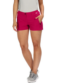 Regatta Highton Shortsit Naiset, dark cerise